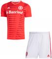 Kids S. C. Internacional 2021-22 Home Soccer Football Kit With Free Name&Number