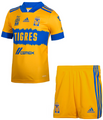 Kids Tigres U.A.N.L. 2021-22 Home Football Kit With Free Name&Number