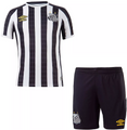 Kids Santos FC 2021-22 Away Football Kit Soccer Kit With Free Name&Number