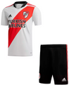 Kids River Plate 2021-22 Home Football Kit With Free Name & Number