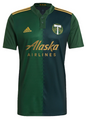 Adult Portland Timbers  2021-22 Green Primary Football Shirt Soccer Jersey With Free Name & Number