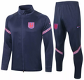 Adult England  2020-21 Navy Blue Track Suit