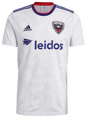 Adult D.C. United 2021-22 White Football Shirt Soccer Jersey With Free Name&Number