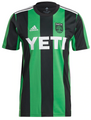Adult Austin FC 2021-22 Black Primary Football Shirt/Jersey With Free Name & Number