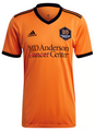 Adult Huston Dynamo 2021-22 Orange Football Shirt Soccer Jersey With Free Name & Number