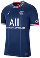 Adult PSG X Jordan 2021-22 Home Soccer Football Shirt With Free Name&Number