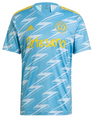 Adult Philadelphia Union 2021-22 Blue Secondary Football Shirt Soccer Jersey With Free Name & Number