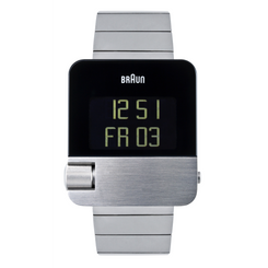 Braun - Men's BN-106SLBTG Prestige Digital - Steel case, steel strap