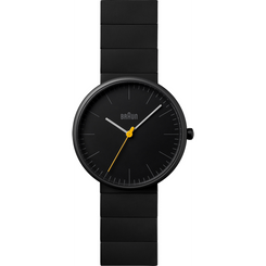 Braun - Men's BN-171BKBKG Ceramic Analog watch, Matte Black