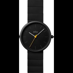 Braun - Men's BN-171BKBKG Ceramic Analog watch, Matte Black