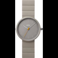 Braun - Men's BN-171GYGYG Ceramic Analog watch, Matte Grey