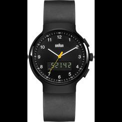 Braun - Men's BN-159BKBKG Analog/Digital, dual time, chronograph + date