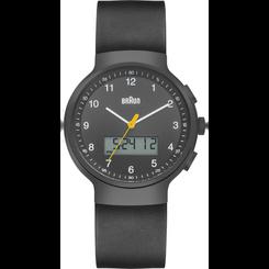 Braun - Men's BN-159GYGYG Analog/Digital, dual time, chronograph + date