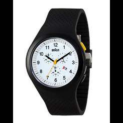 Braun - Men's BN-115-WHBKBKG Chronoscope sports watch