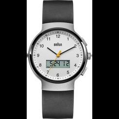Braun - Men's BN-159WHBKG Analog/Digital, dual time, chronograph + date