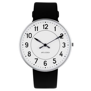 rosendahl arne jacobsen new station 40mm wrist watch rd 53402 greenergrassdesign. Black Bedroom Furniture Sets. Home Design Ideas