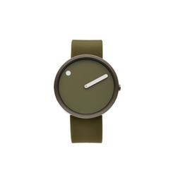Rosendahl - Picto - Silver Case / Green Dial / Green Silicone Band RD-43356