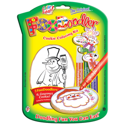 Snowman Cookie Coloring Kit