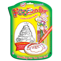 Evergreen Cookie Coloring Kit