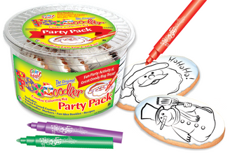 Ho Ho Ho! & Snowman Cookie Party Pack