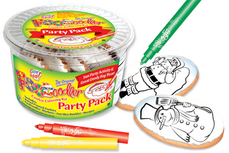 Santa & Snowman Cookie Party Pack