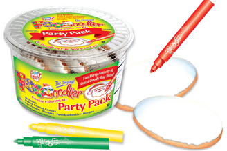 Christmas Cookie Coloring Party Pack
