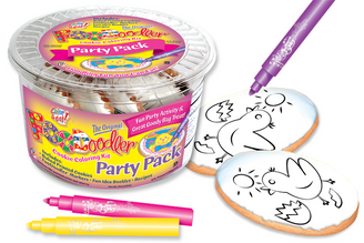 Chic Cookie Coloring Party Pack