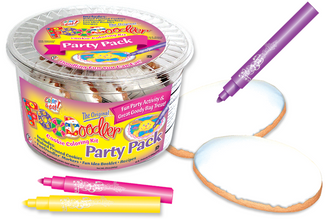 Easter Cookie Coloring Party Pack