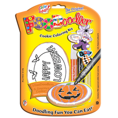 Happy Halloween Cookie Coloring Kit