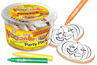 Pumpkin Cookie Coloring Party Pack