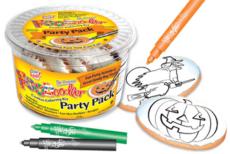 Pumpkin & Witch Cookie Party Pack