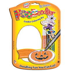 Halloween Cookie Coloring Kit