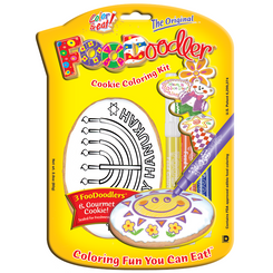 Menorah Cookie Coloring Kit