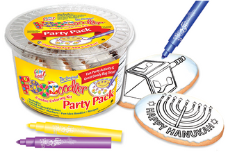 Dreidle & Menorah Cookie Party Pack