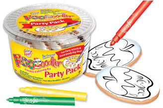 Apple & Honey Cookie Coloring Party Pack