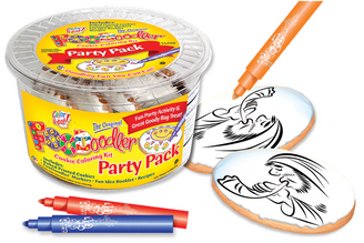 Shofar Cookie Coloring Party Pack