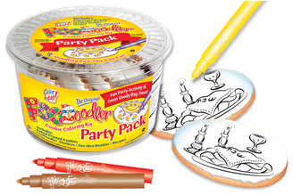 Shabbat Table Cookie Coloring Party Pack
