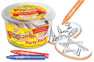 Star of David & Shabbat Party Pack