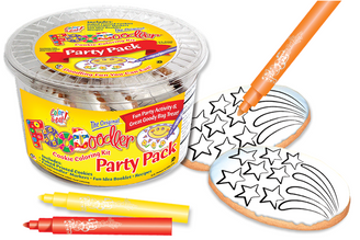 Fire Works Cookie Coloring Party Pack