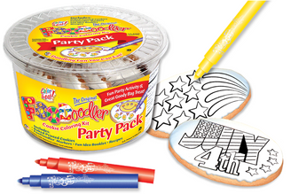 4th of July & Fire Works Cookie Coloring Pack