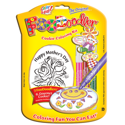 Mothers Day Cookie Coloring Kit, Roses