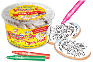 Roses Cookie Coloring Party Pack
