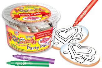 Valentine Hearts Cookie Party Pack