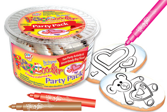 I Love You Bear & Hearts Cookie Party Pack