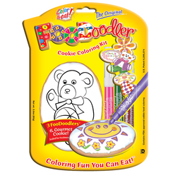 Bear Cookie Coloring Kit