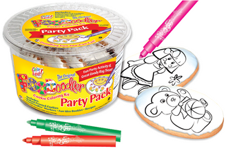 Bear & Doll Cookie Coloring Party Pack