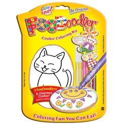 Cat Cookie Coloring Kit