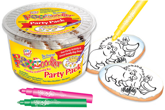 Pig & Duck Cookie Coloring Party Pack