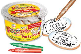 Barn Cookie Coloring Party Pack