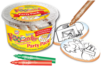 Rooster & Barn Cookie Coloring Pack
